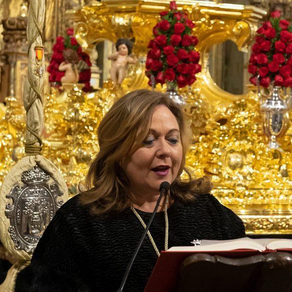 Presindeta de la Agrupación- Maria Trinidad Calvo Gómez
